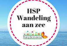 HSP wandeling aan zee