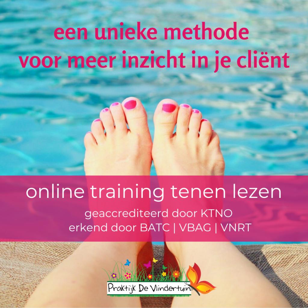 online training tenen lezen