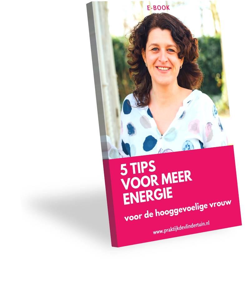 E-book 5 tips voor meer energie